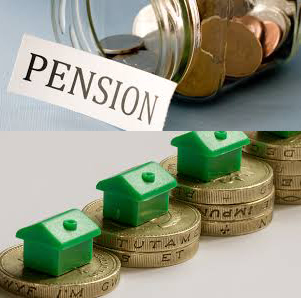 Property as part of Pension