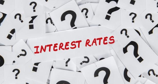 Interest rates rise